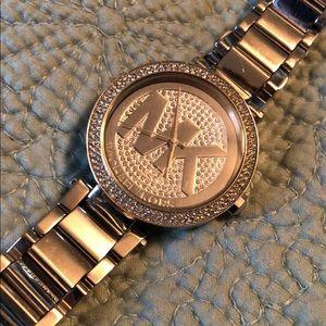 Rhinestone Michael Kors Watch